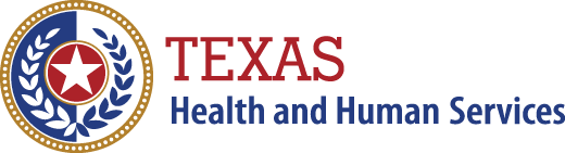 Texas Health and Human Services página de inicio